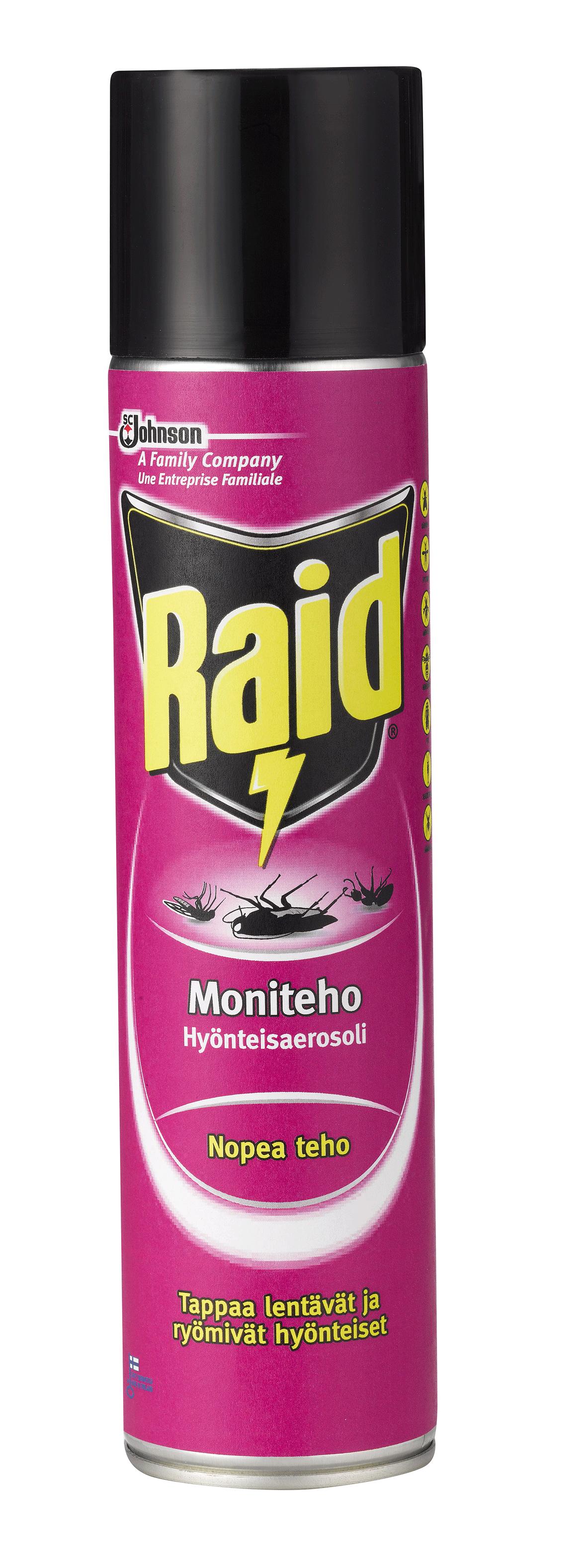 Hyönteiskarkote Raid Moniteho